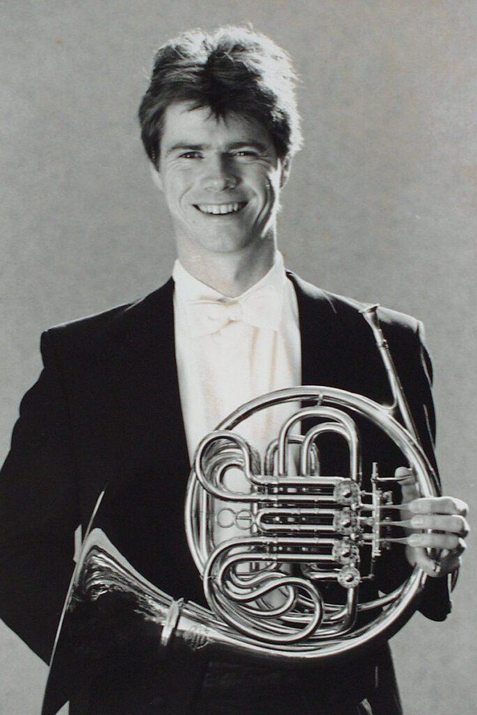 Heiko Maschmann kommt zum IMV und wird 1993 zum Dirigenten gewählt