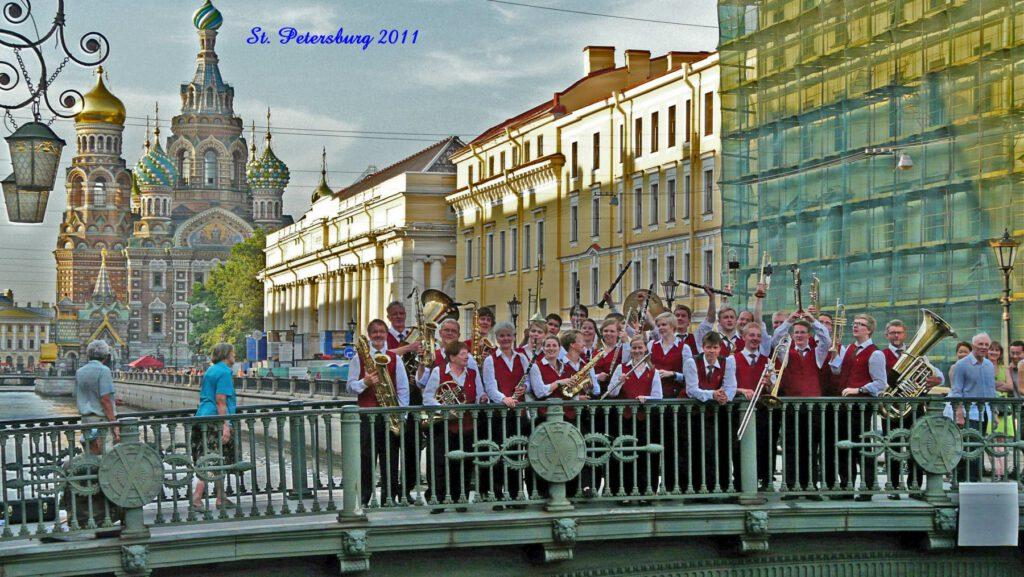 Konzertreise nach St. Petersburg